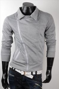 Bluza JAPAN STYLE New Zippers FP015 Grey