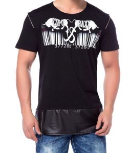 Cipo Baxx T-shirt Bad Boy Style CT- 153  black