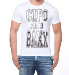 Cipo Baxx T-shirt CT- 118 white