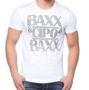 Cipo Baxx T-shirt CT- 121 white