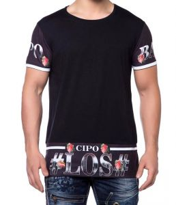 Cipo Baxx T-shirt Bad Boy Style CT- 138 black