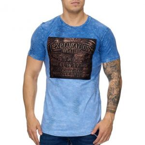 T-shirt Exploration Aviator FP984 blue