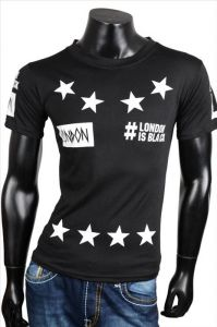 Fashion t-shirt London black