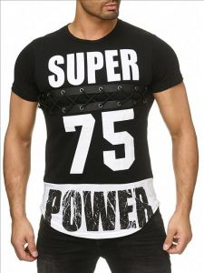 T-shirt Super Power black