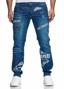 Jeansy C-IN-C m8050-Japrag blue