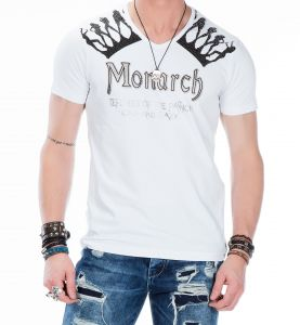 Cipo Baxx T-shirt CT- 377 white