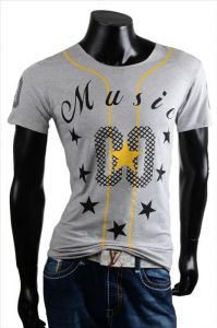 T-shirt Music grey
