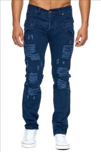 Jeansy M11010 blue