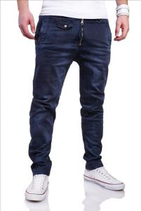 Jeansy M6832 blue