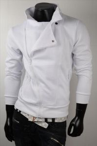 Bluza JAPAN STYLE New Zippers 2262N White